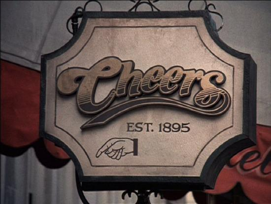 Cheers Sign