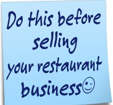 selling a restaurant business