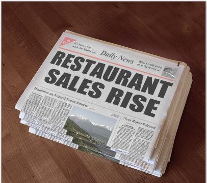 Restaurant Sales rise