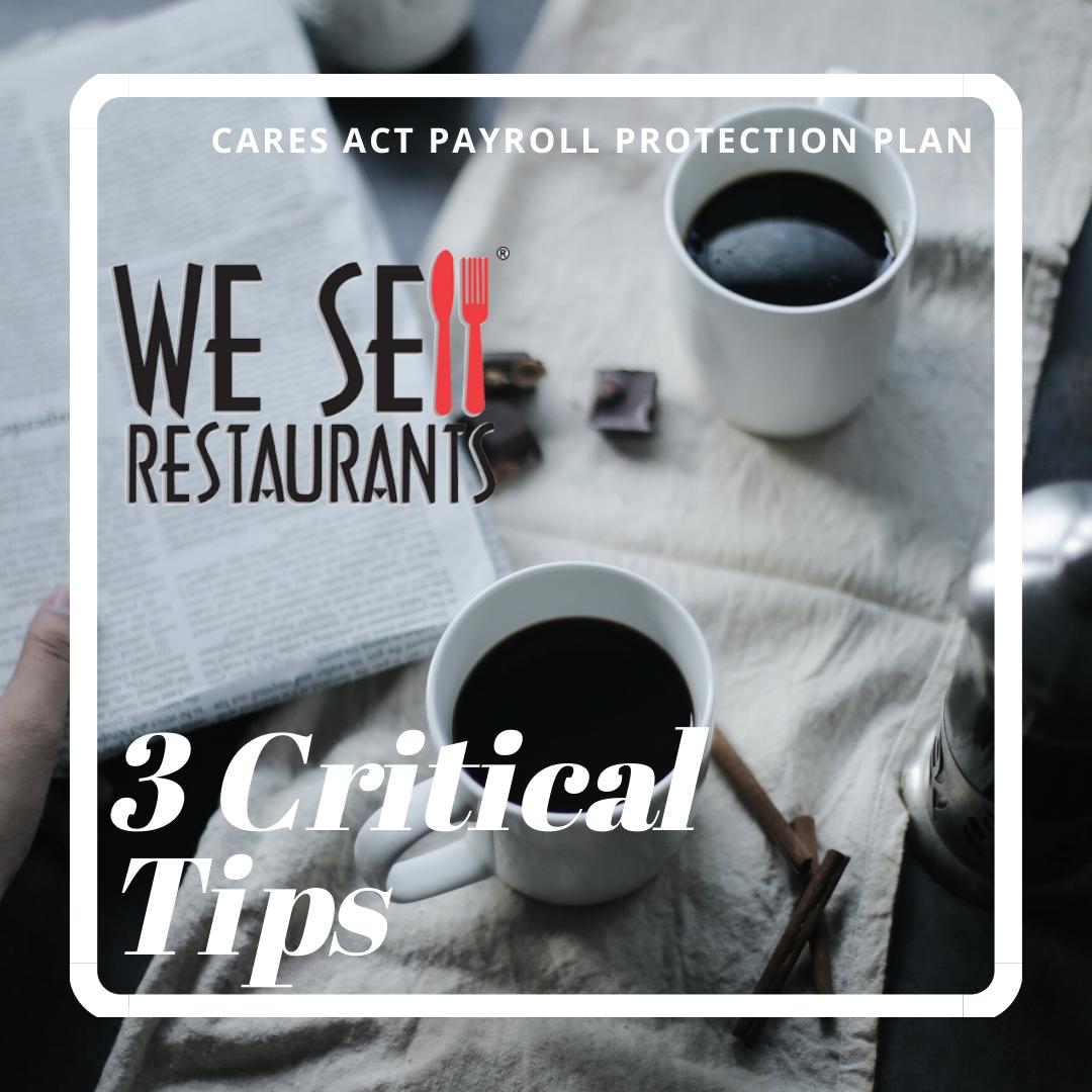 3 Critical Tips