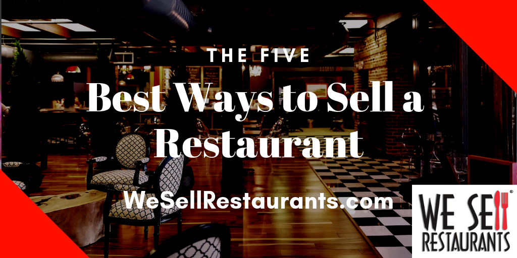 Best Ways to Sell a Restaurant