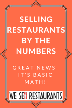 selling restaurants by the numbers