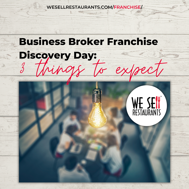 Business Broker Franchise Discovery Day - 3 Things to Expect