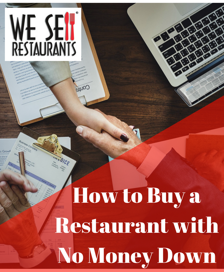 How to Buy a Restaurant with No Money Down