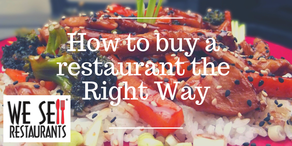 How to buy a restaurant the Right Way