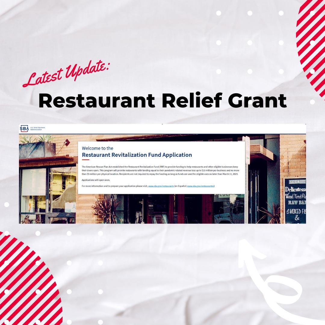 IG Restaurant Relief Grant