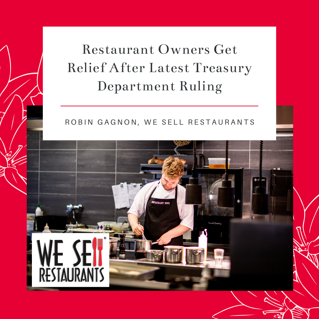 We Sell Restaurants Discusses Relief for Restaurant Owners