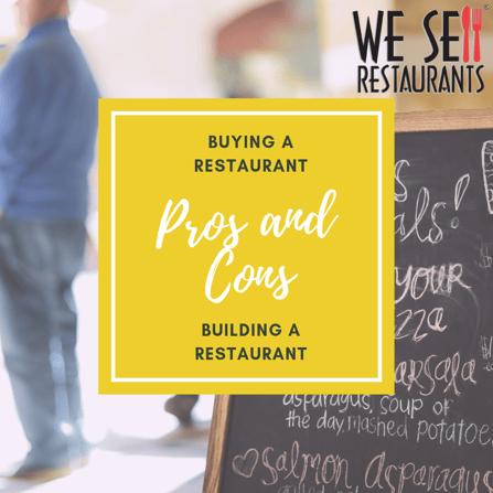 Buying a Restaurant Versus Building a Restaurant