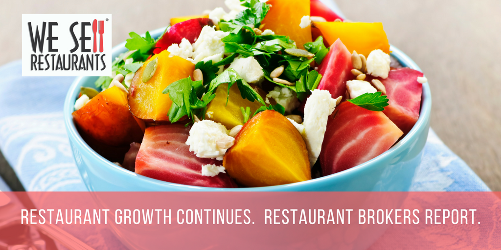 Restuarant growth continues. Restaurant brokers report..png