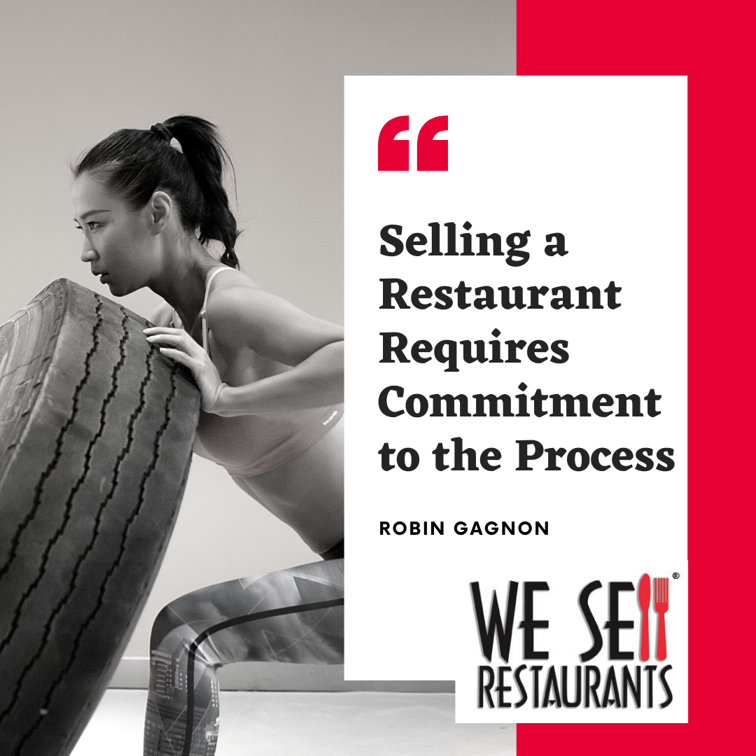 Selling a Restaurant Process.