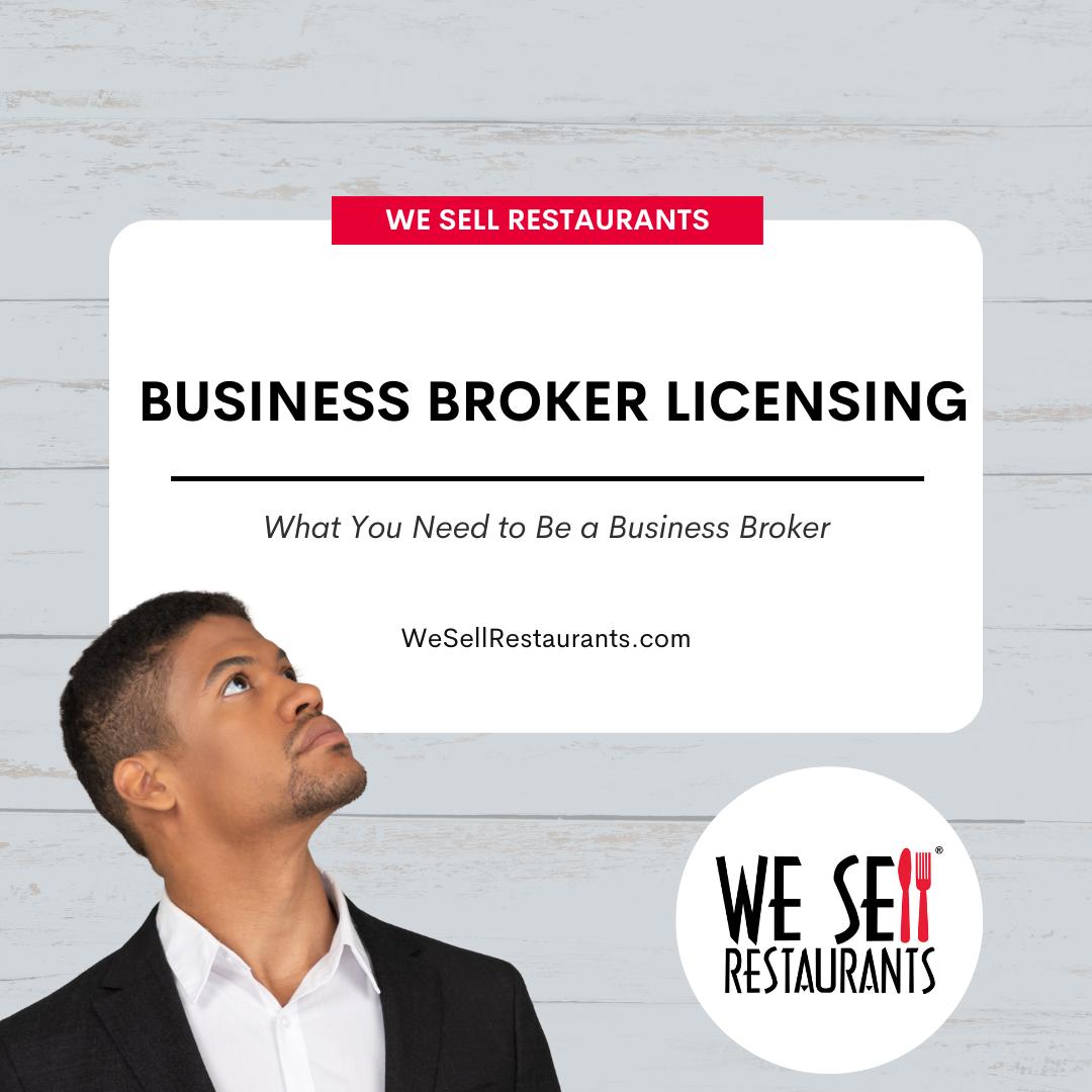 business broker licensing