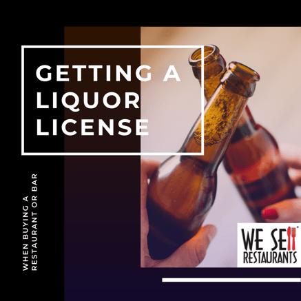 getting a liquor license