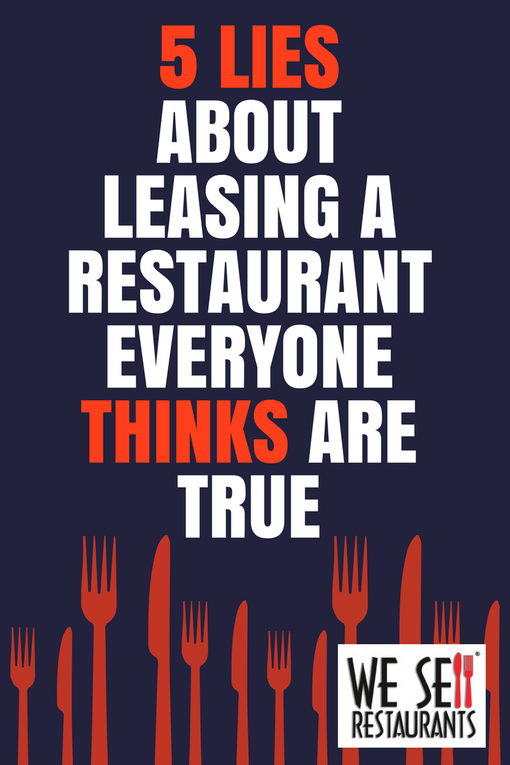 Lies about leasing a restaurant