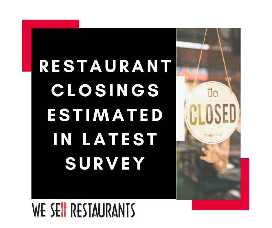 Restaurant Closings Estimated in Latest Survey
