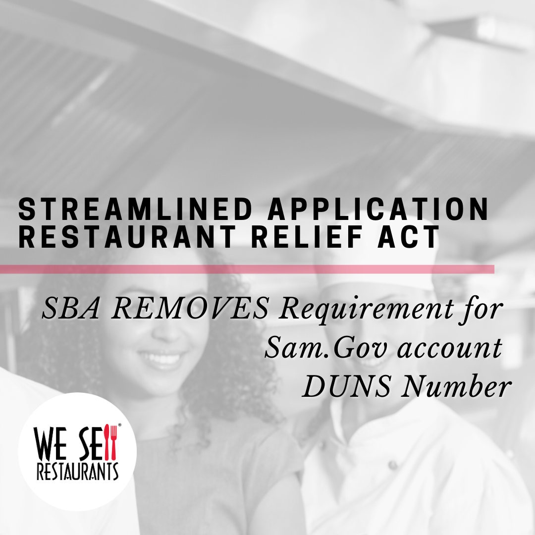 The Restaurant Relief Act – Questions and Answers for Restaurant Owners