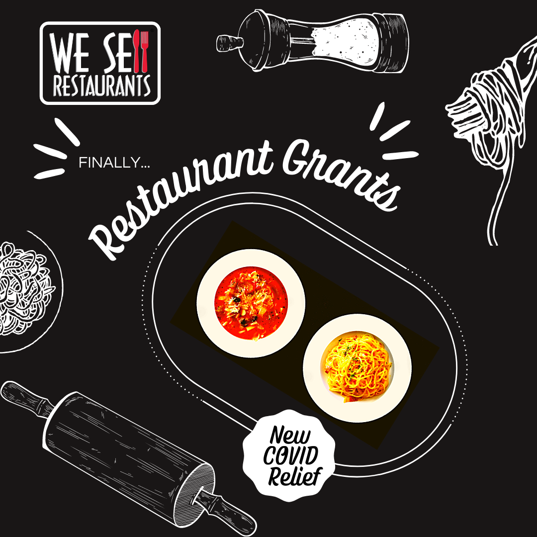 We Sell Restaurants Details Grants for Restaurant Owners