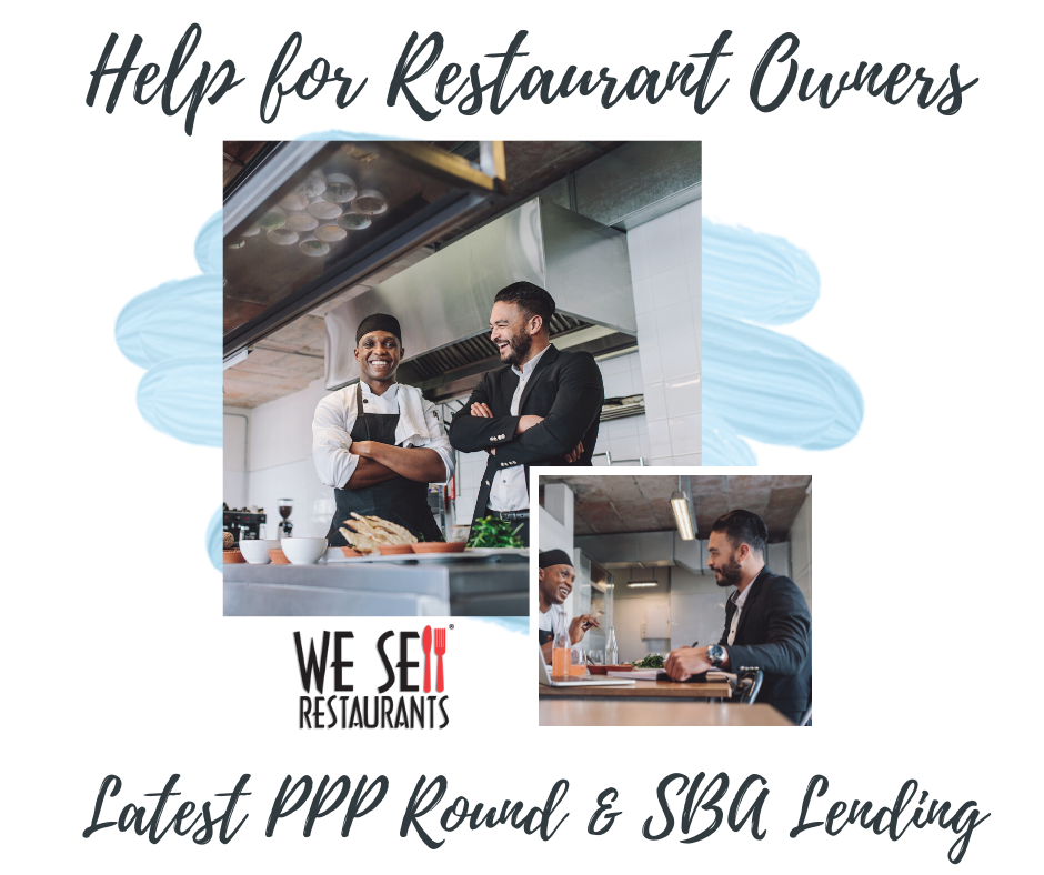 Help for Restaurant Owners in Latest PPP Round and SBA Funding