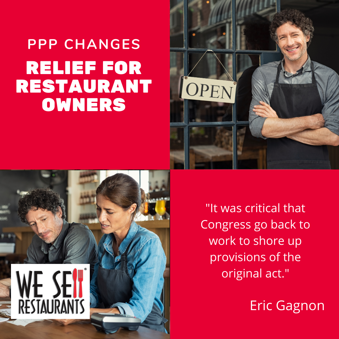 Relief for Restaurant Owners as Paycheck Protection Program Modifications Pass in Congress