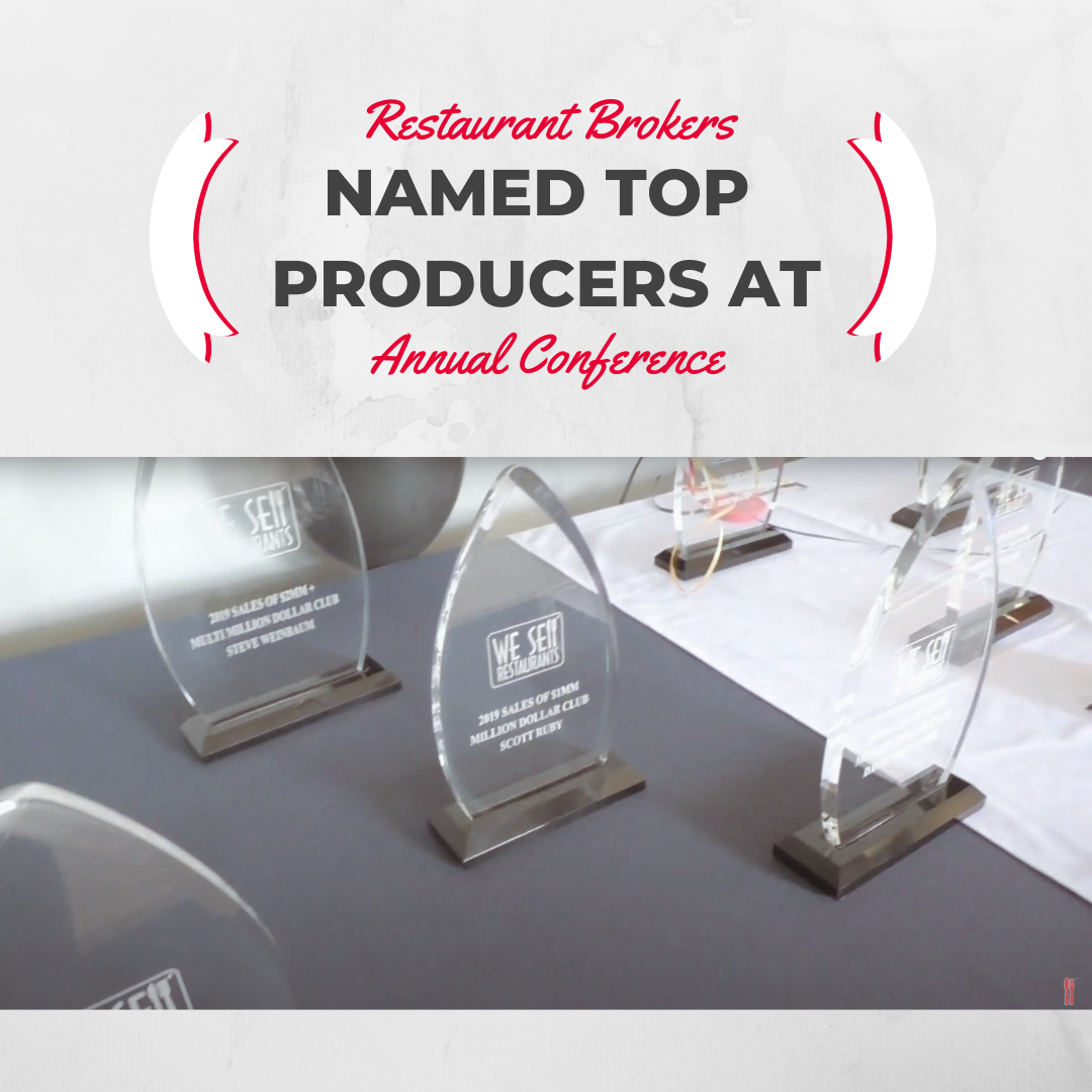 Restaurant Brokers Named Top Producers at Annual Conference