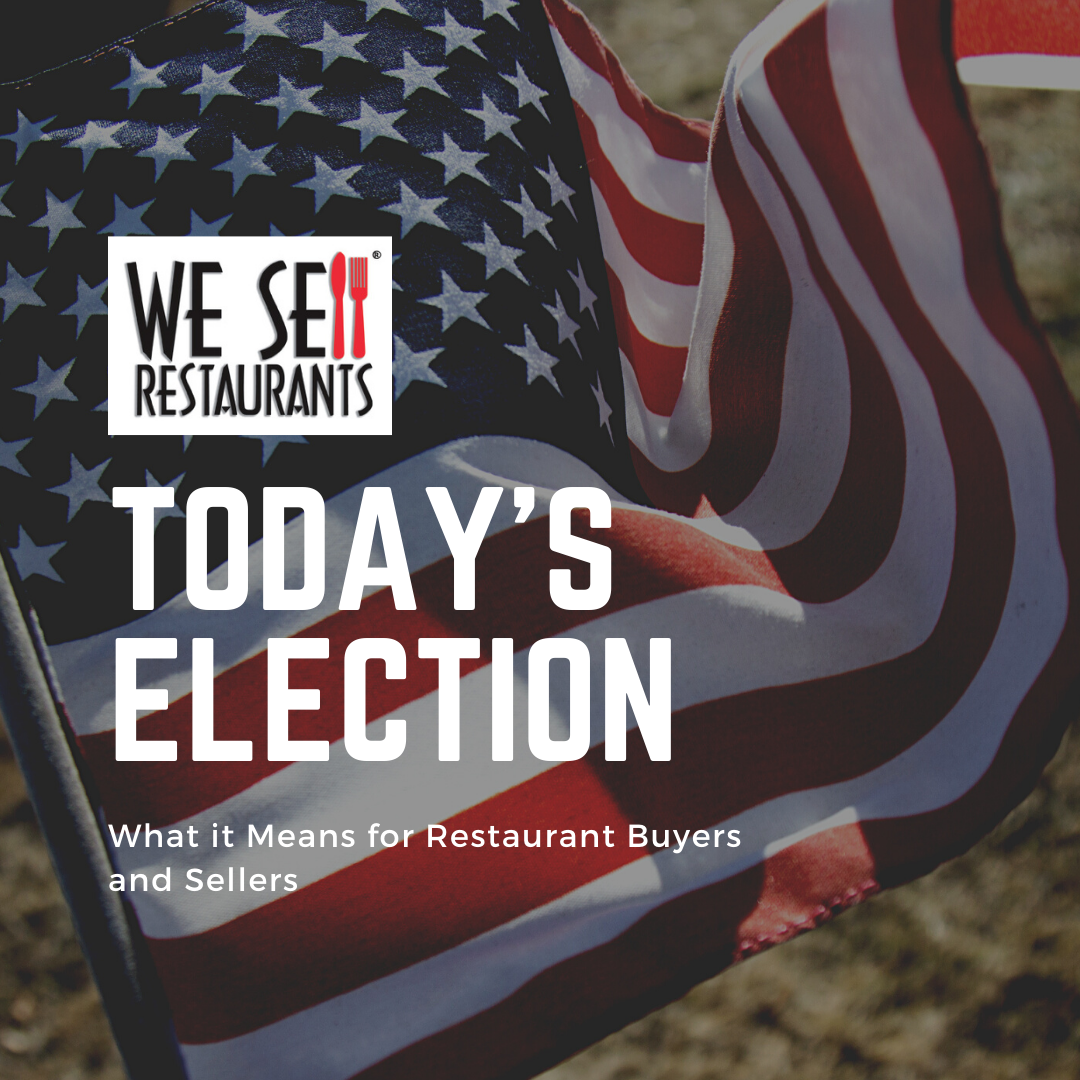 Restaurant Broker Reveals What Today's Election Means for Buyers and Sellers