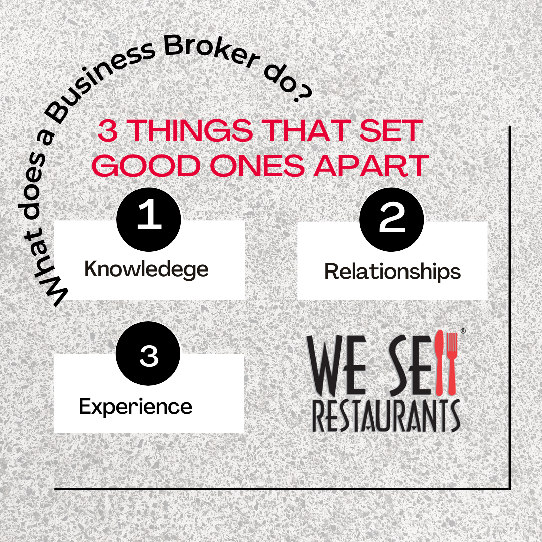 What Does a Business Broker do? Three Things That Set Good Ones Apart