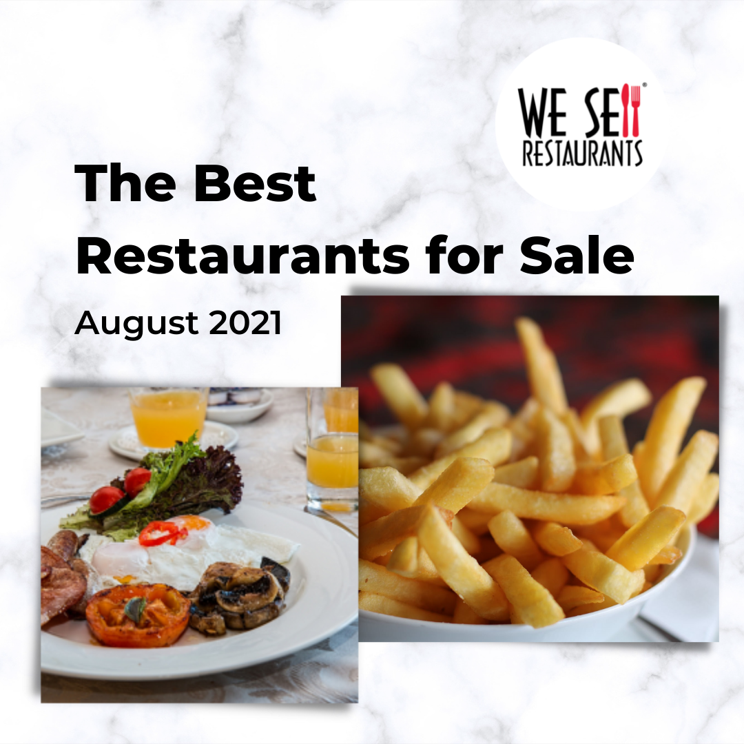 The Best Restaurants for Sale in August 2021